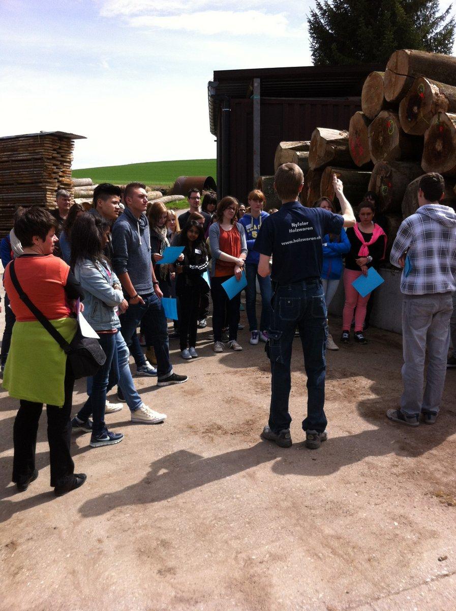 Betriebsbesichtigung Holzlagerplatz1