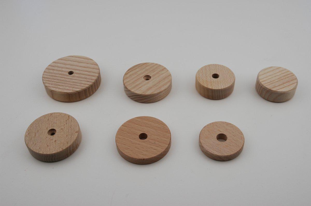 Rädli aus Holz in diversen Grössen und Arten